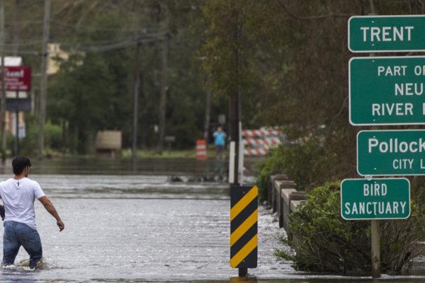 Alerta de inundaciones catastróficas en la costa este de EEUU