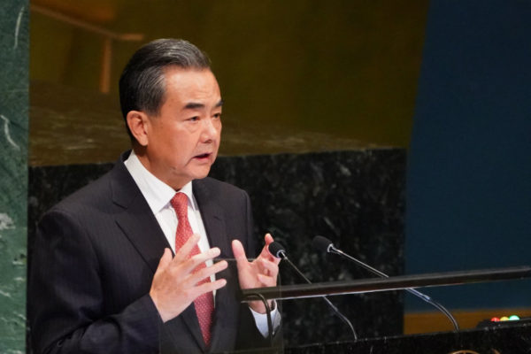 «China no será chantajeada», dice en la ONU su canciller