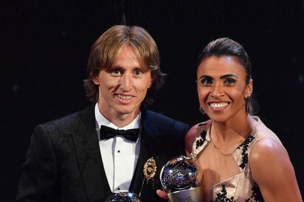 Modric pone fin al dominio de Messi y Ronaldo en el fútbol mundial