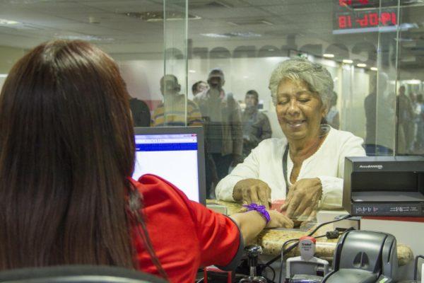 Banco Bicentenario realiza jornada especial para pago de pensiones