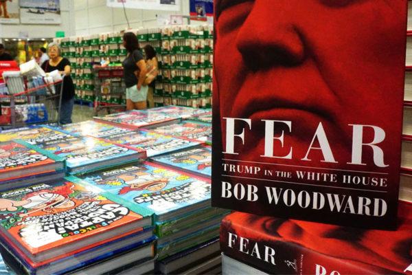 Trump, una máquina de vender libros