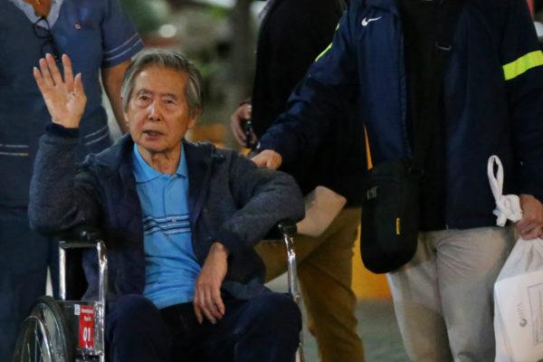 Alberto Fujimori pidió debido proceso para su hija Keiko