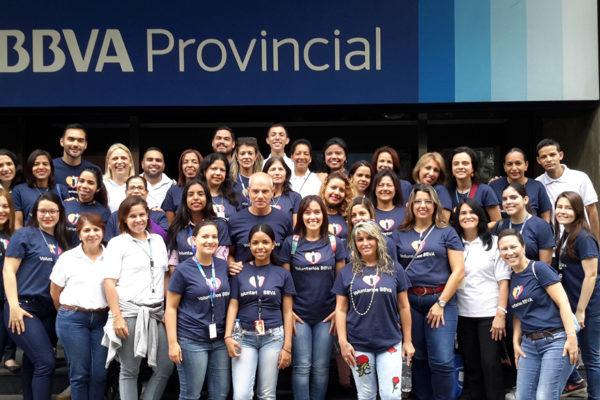 BBVA Provincial realizó Semana Global del Voluntariado