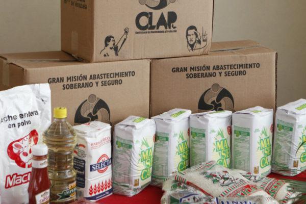 Cajas CLAP solo aportan 8,91% del requerimiento calórico en las familias venezolanas