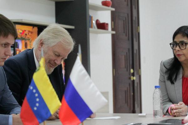 Reservas internacionales y petro, temas abordados con los rusos