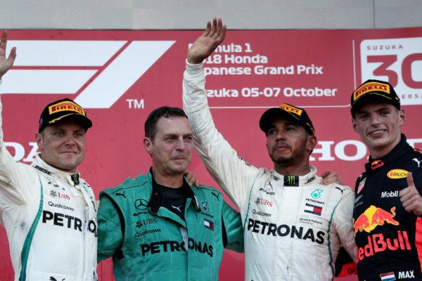 Lewis Hamilton gana el Gran Premio de Japón de Fórmula 1