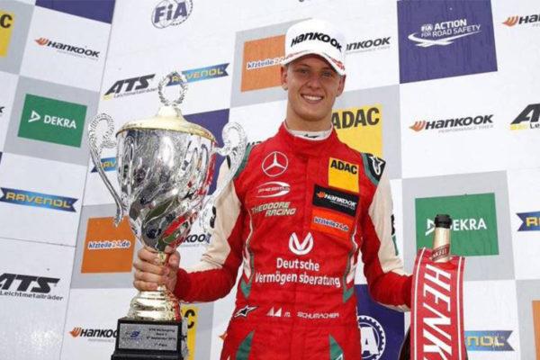 Mick Schumacher es el campeón de la F3 europea