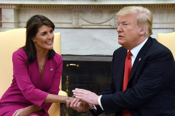 Nikki Haley renuncia como embajadora de EEUU ante la ONU