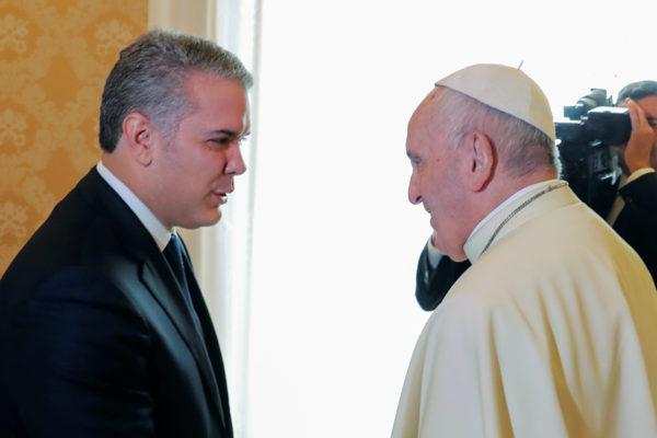 El Papa respaldó política de acogida de venezolanos en Colombia
