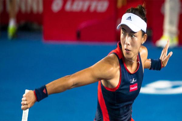 Qiang Wang derrotó a Garbiñe Muguruza en semifinales de Hong Kong