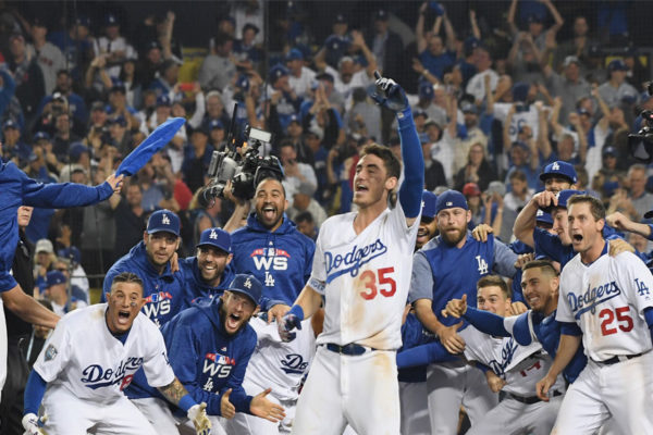 Dodgers ganan 3×2 en 18 innings y recortan distancia