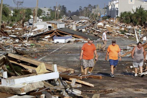 Cifra de muertos por huracán Michael podría subir