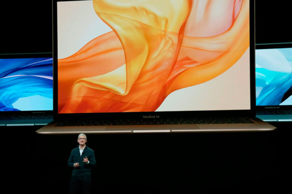 Apple anuncia nueva MacBook Air y iPad con pantallas ampliadas