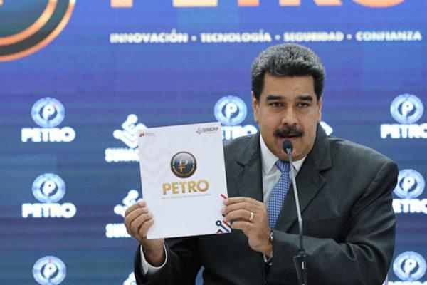 El petro se venderá en bolívares a partir del 5 de noviembre