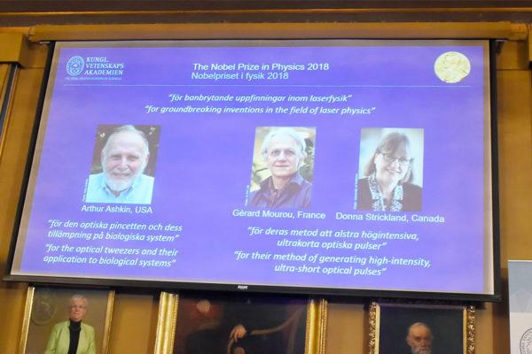 Nobel de Física para una mujer por primera vez en 55 años
