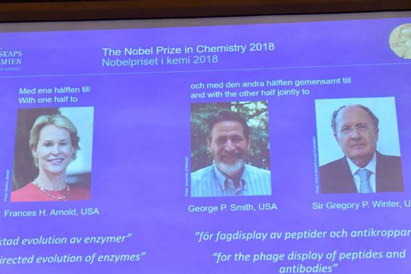El Nobel de Química premia a tres domadores de la evolución
