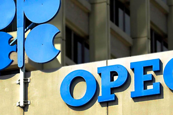 Cesta OPEP se cotiza a US$14,19 por barril, su precio más bajo desde 1998