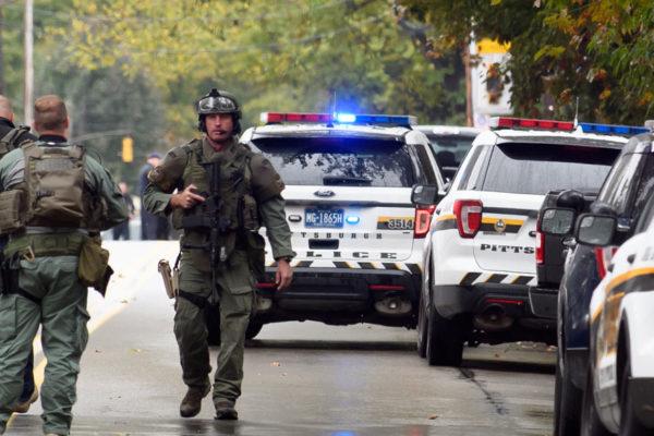 Once muertos en ataque contra sinagoga en Pittsburgh