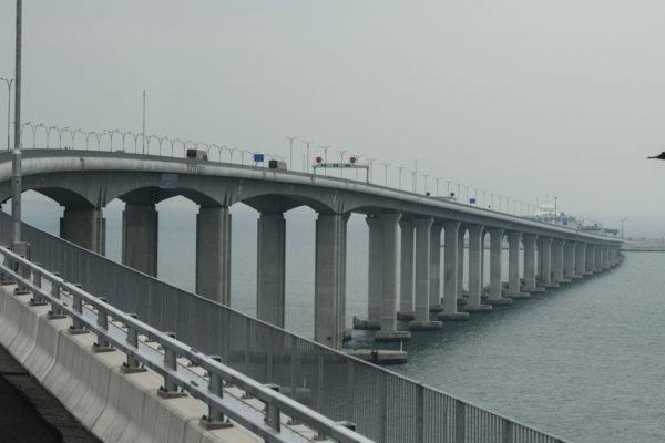 Puente de 55 km une Hong Kong y Macao a la China continental