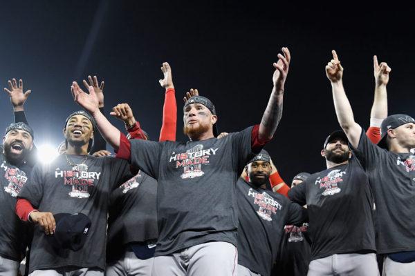Medias Rojas de Boston ganan su novena Serie Mundial