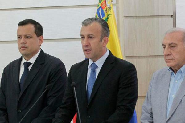 Tareck El Aissami de visita en Rusia para tratar crisis venezolana