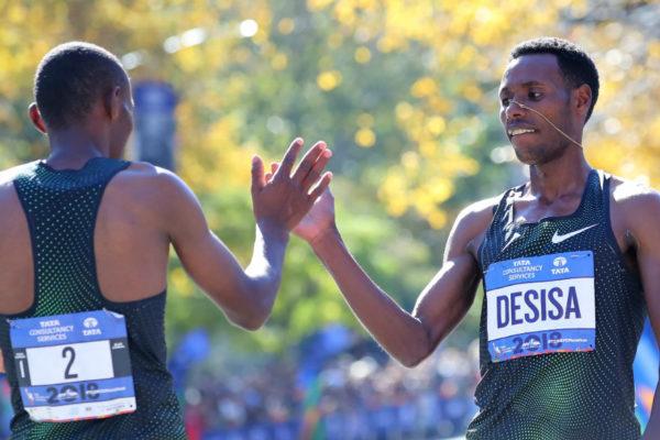 Etíope Desisa y keniana Keitany ganan maratón de Nueva York