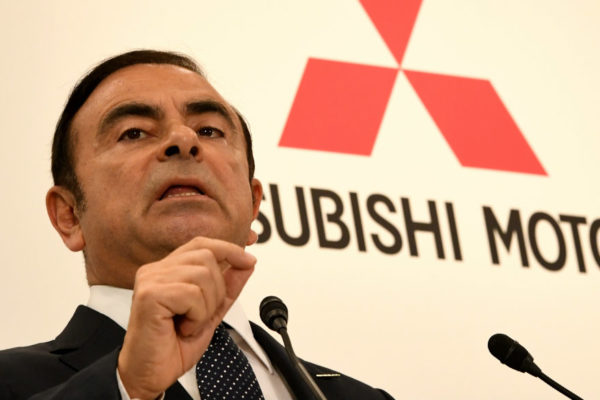 Mitsubishi destituye a Carlos Ghosn de la presidencia