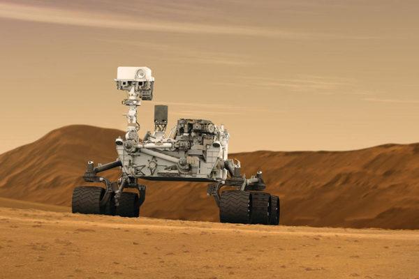 Descubra cómo se conduce el robot Curiosity en Marte