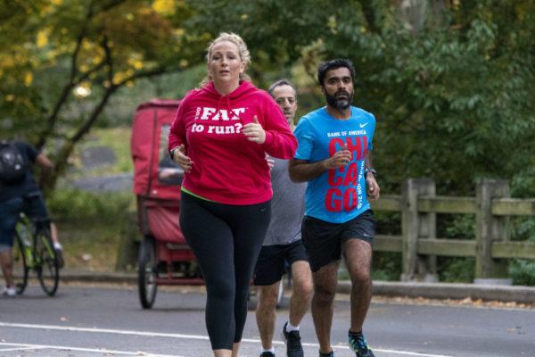 ¿Demasiado gorda para correr?