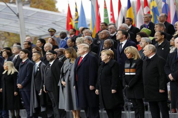 Líderes mundiales conmemoran el centenario del armisticio