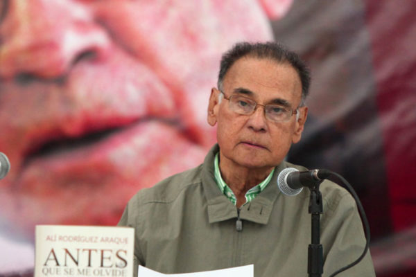 Fallece Alí Rodríguez Araque a los 81 años