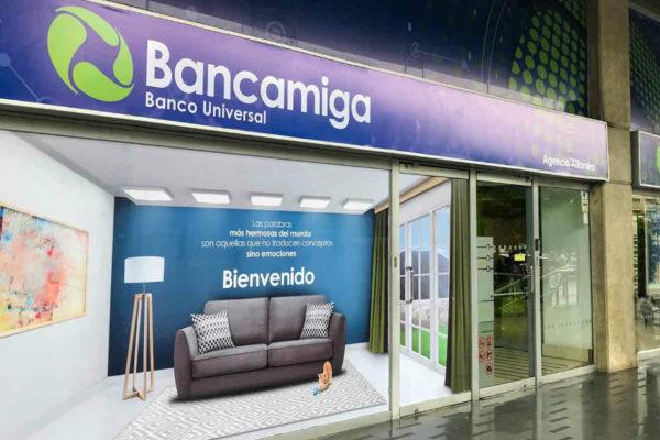 Bancamiga cerró octubre con una rentabilidad del 122,3%