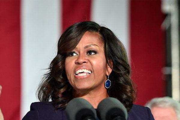 Michelle Obama supera a Hillary Clinton como la mujer más admirada de EEUU