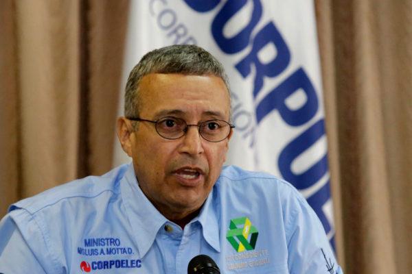 Motta asegura que se normalizó servicio eléctrico en Margarita