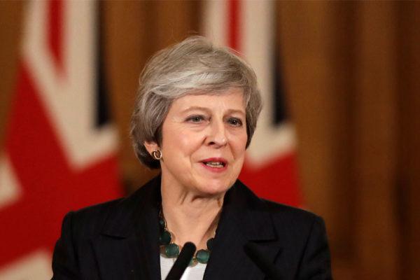 Theresa May pide a sus diputados unidad en la recta final del Brexit