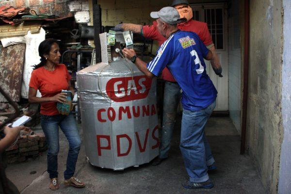 Venezuela, el país petrolero donde solo 18% de la población tiene gas directo