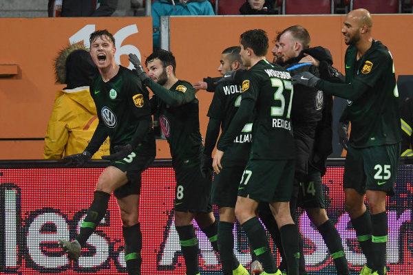 Augsburgo cae ante el Wolfsburgo pese al gol del venezolano Córdova