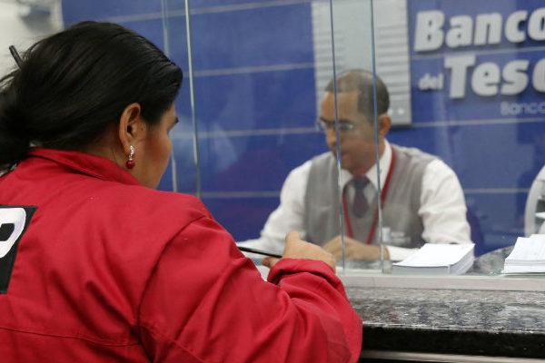 Banco del Tesoro prestará servicios en 105 oficinas durante semana de flexibilización
