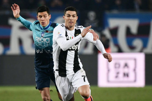 Cristiano Ronaldo evita la derrota de la Juve ante el Atalanta de Zapata