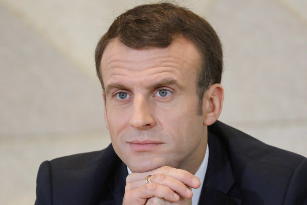 Emmanuel Macron da positivo por coronavirus