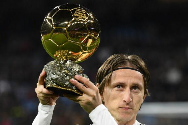 Luka Modric es designado deportista del año en Croacia
