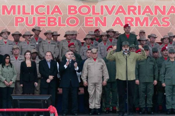 Maduro ratifica meta de incorporar 3 millones de efectivos a la Milicia Bolivariana