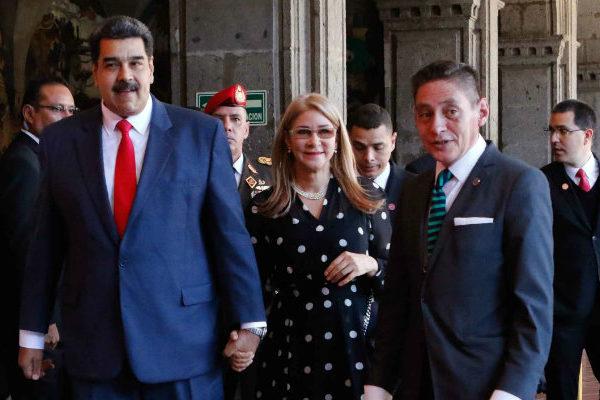 Maduro desestima el rechazo de legisladores mexicanos