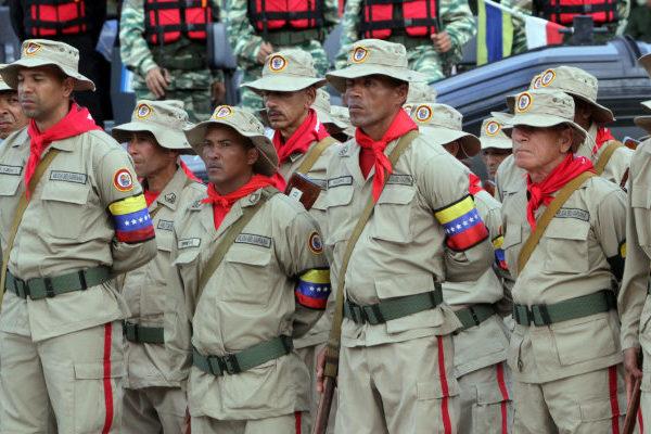 Maduro incorpora a milicianos a la Guardia Nacional Bolivariana