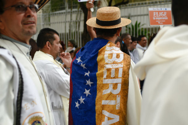 Iglesia venezolana pide mantener la esperanza para salir de la crisis