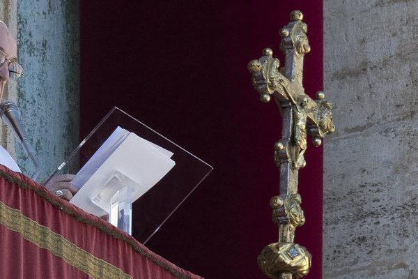 El papa apela a la fraternidad en Venezuela en su mensaje de Navidad