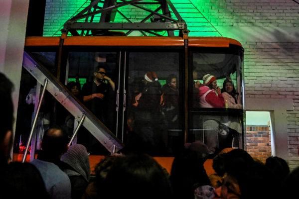 Inauguran el primer cabletren de transporte masivo en Bogotá