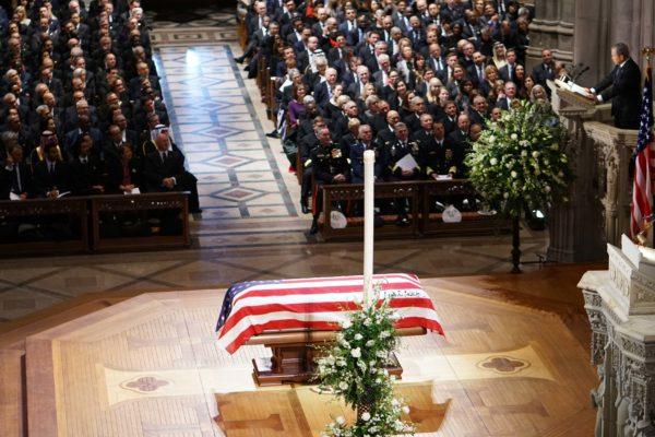 EEUU se une para dar un solemne adiós al expresidente George H. W. Bush