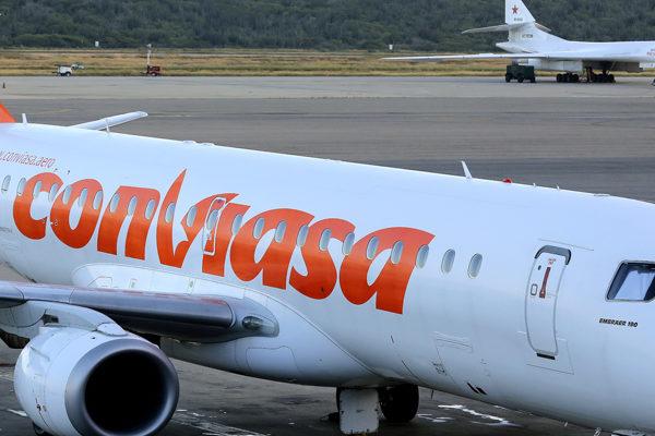 Conviasa realizó 3.022 vuelos nacionales e internacionales en 2020