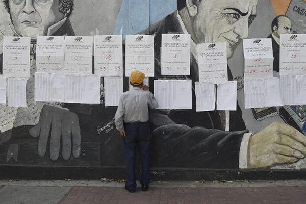 Centros de votación desiertos marcan elección de concejales